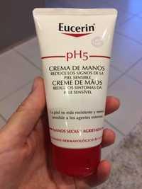 Eucerin - Crema de manos