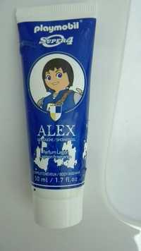 Koto Parfums - Playmobil super 4 -  Gel douche d'Alex parfum lagon