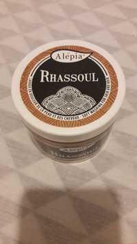 ALEPIA - Rhassoul - Lavage en douceur de la peau et des cheveux