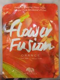 ORIGINS - Flower fusion orange - Masque tissu révélateur d'éclat