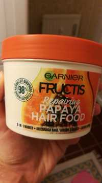 GARNIER - Fructis - Repairing papaya hair food