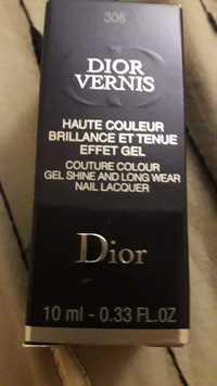 Dior - Dior vernis - Haute couleur brillance et tenue effet gel 306