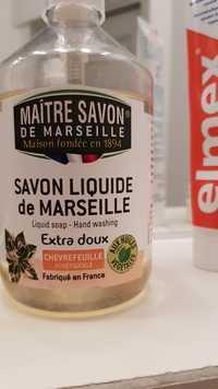 Maître savon de marseille - Chèvrefeuille - Savon liquide de Marseille
