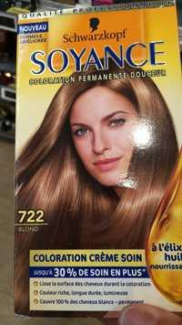 SCHWARZKOPF - Soyance - Coloration crème soin 722 blond