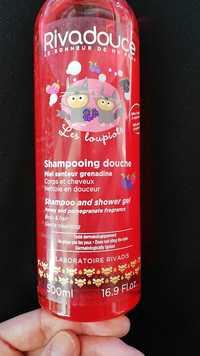 Rivadouce - Les loupiots - Shampooing douche Miel senteur grenadine
