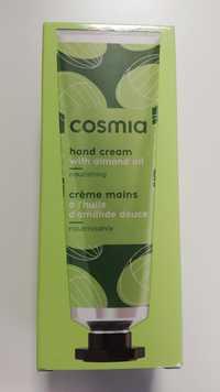 Cosmia - Crème mains à l'huile d'amande douce