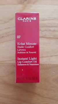 Clarins - Eclat Minute - Huile comfort lèvres 07