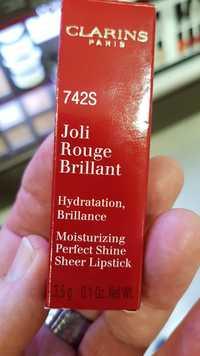Clarins - Joli rouge brillant 742S