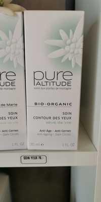 Pure Altitude - Bio-organic - Soin contour des yeux sève de vie