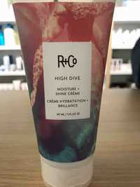 R+Co - High dive - Crème hydratation + brillance