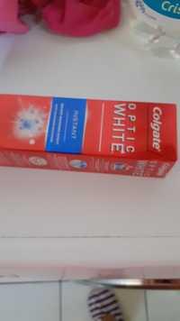 COLGATE - Optic white instant - Dentifrice