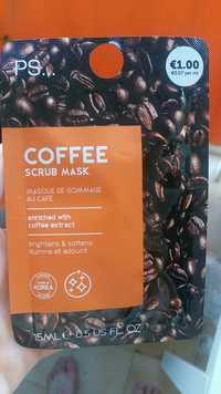 Primark - PS Coffee - Masque de gommage au café