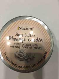 Nacomi - Shea butter massage candle