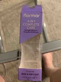 Flormar - 4 in 1 complete care - Base & top coat