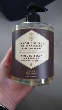 PANIER DES SENS EN PROVENCE - Savon liquide de Marseille à l'extrait de miel