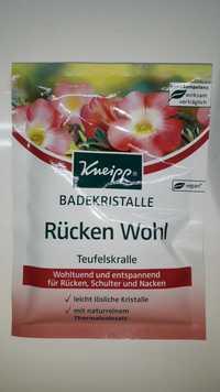 Kneipp - Badekristalle - Rücken wohl