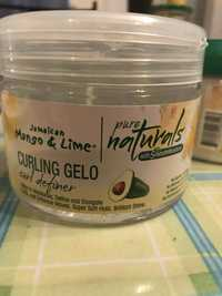 Jamaican Mango & Lime - Pure naturals - Curling gelo
