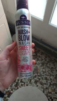 AUSSIE - Wash + blow in a can sweet escape - Dry shampoo