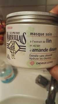 LE PETIT MARSEILLAIS - Lin Amande Douce - Masque soin