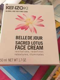 Kenzoki - Belle de jour sacred lotus - Face cream
