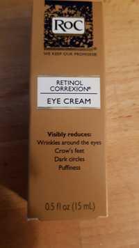 Roc - Retinol correxion - Eye cream
