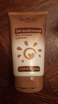 BIOCURA - Gel autobronzant à l'extrait de cacao