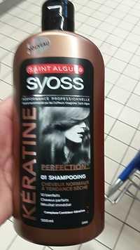 Syoss - Perfection 01 shampooing kératine cheveux normaux  à tendance sèche