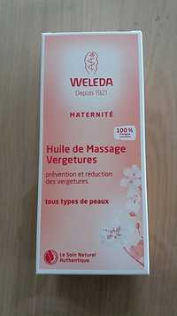 Weleda - Matérnité - Huile de massage vergeture