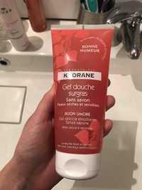 KLORANE - Bonne humeur - Gel douche surgras sans savon