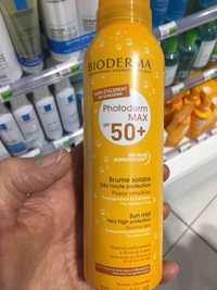Bioderma - Photoderm max SPF 50+ - Brume solaire