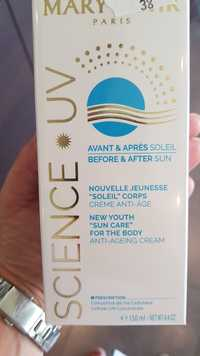 MARY COHR - Science UV - Crème anti-âge avant et après soleil