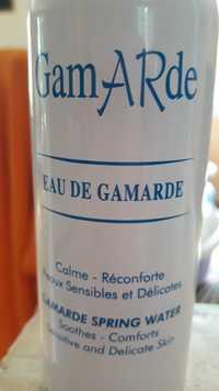 GAMARDE - Eau de Gamarde