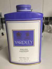 YARDLEY LONDON - English lavender - Talc parfumé