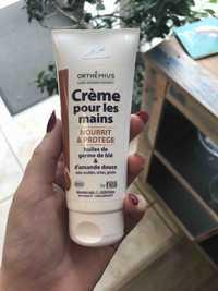 ORTHEMIUS - Crème pour les mains à l'huile de germe de blé