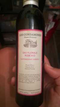 Les Condamines - Eau florale rose bio