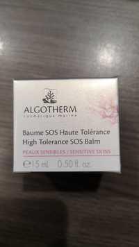 Algotherm - Baume SOS haute tolérance