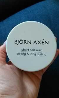 BJÖRN AXÉN - Short hair wax