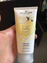 ATTITUDE - Blooming belly - Huile-élasticité naturelle