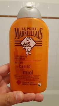 LE PETIT MARSEILLAIS - Shapooing nutrition au lait de Karité et au Miel