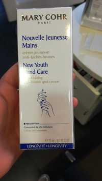 MARY COHR - Nouvelle jeunesse mains