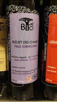 Bio.K - Bleuet de champs - Eau florale biologique et équitable