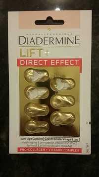 DIADERMINE - Lift+ direct effect - Anti-âge capsules