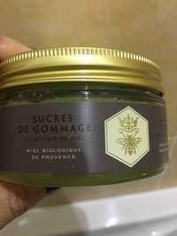 PANIER DES SENS - Miel bio de Provence - Sucres de gommage