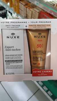 NUXE - Expert anti-taches sérum + Crème fondante haute protection