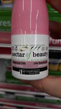 LES COSMÉTIQUES DESIGN PARIS - Nectar of beauty - Déodorant 24h Fleurs blanches