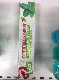 Auchan - Dentifrice complet bio