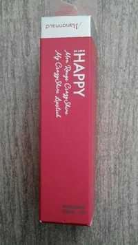 MARIONNAUD - Make me happy - Mon rouge crazyshine 07 lovely magnolia