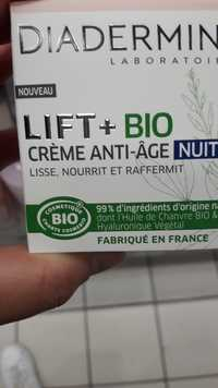 DIADERMINE - Lift + Bio - Crème anti-âge nuit