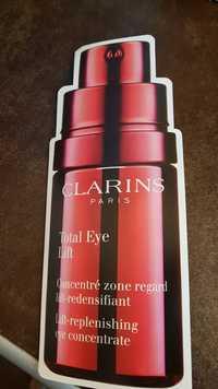 CLARINS - Total eye lift - Concentré zone regard