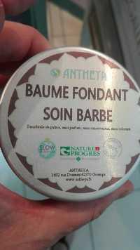 ANTHEYA - Baume fondant - Soin barbe